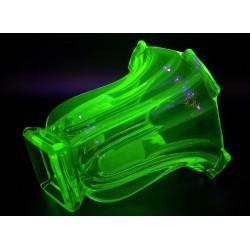 Uranowy wazon art deco Walther