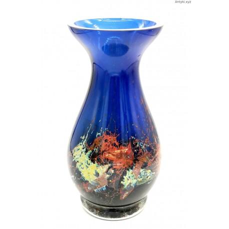 Pavel Hlava niebieski wazon