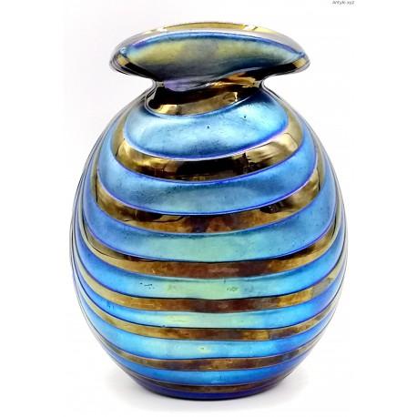 Art Nouveau Rindskopf Kralik Loetz iryzowany wazon