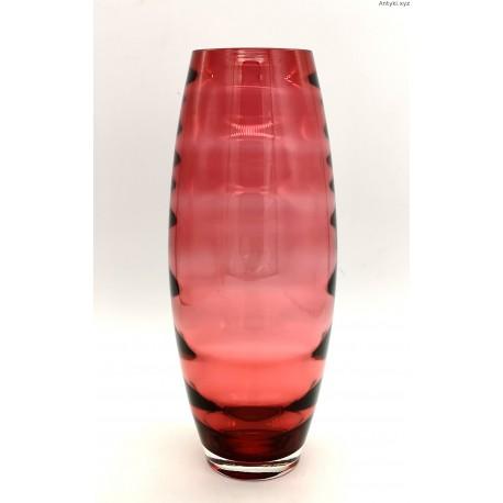 Karel Wünsch malinowy wazon