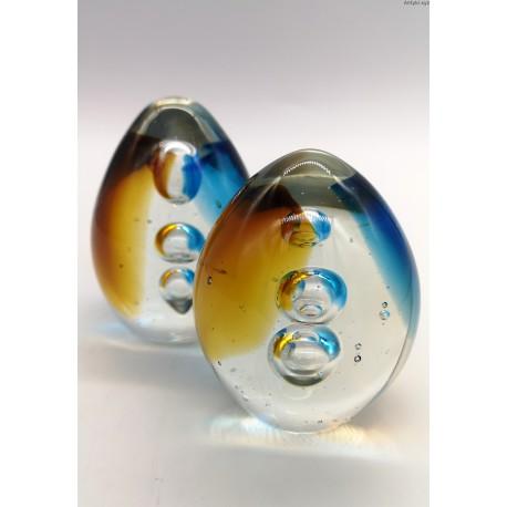 Szklana forma przycisk komplet